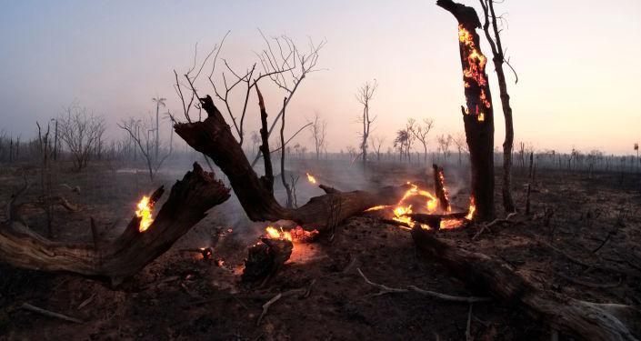Incendios en Bolivia