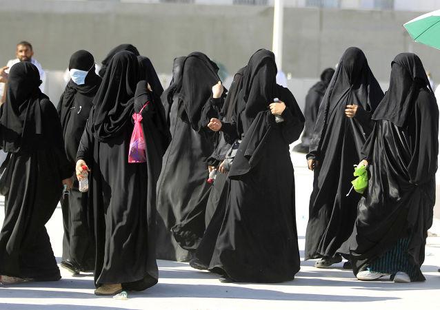 Mujeres saudíes (archivo)