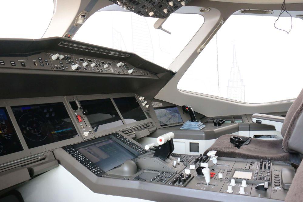 El avión comercial CR929