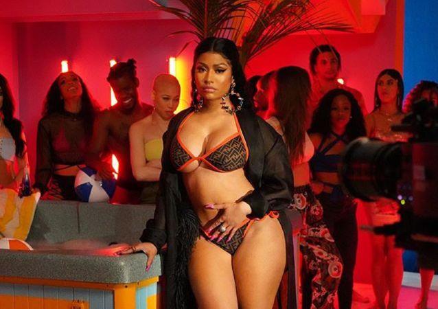 Nicki Minaj, cantante estadounidense