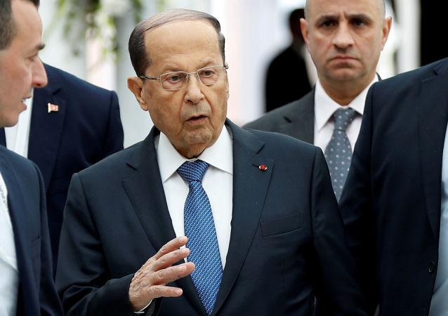 Michel Aoun, el presidente del Líbano