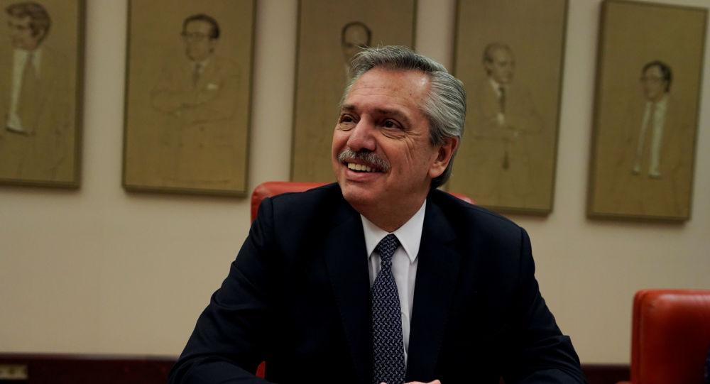 Alberto Fernández, líder de la oposición en Argentina
