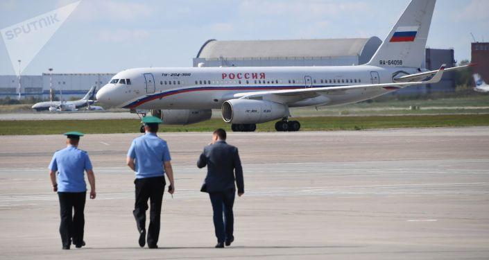 El avión Tu-204 aterrizó en Moscú con los prisioneros rusos liberados en el marco del intercambio de prisioneros entre Rusia y Ucrania