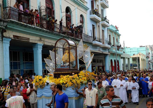La virgen de la Caridad del Cobre, Santa Patrona de Cuba