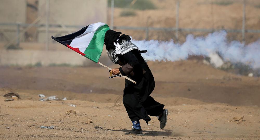 Disturbios en la Franja de Gaza