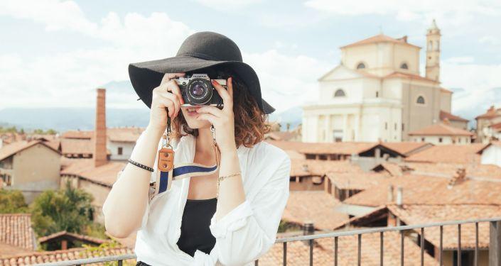 Una turista (imagen referencial)