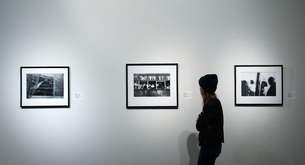Una de las exposiciones de Robert Frank