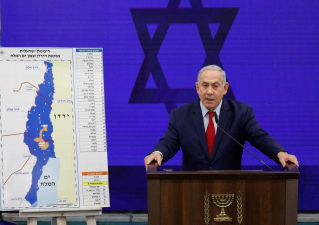 Benjamín Netanyahu, primer ministro israelí