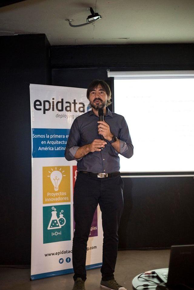Adrián Anacleto, CEO de Epidata