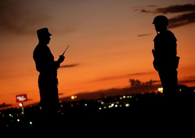 Soldados de la Guardia Nacional mexicana