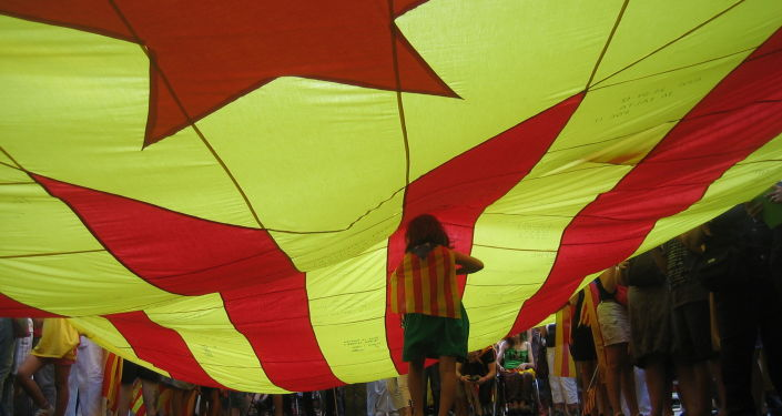 Estelada, la bandera independentista de Cataluña