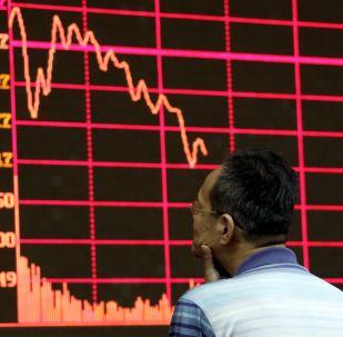 La bolsa de Shanghái (imagen referencial)