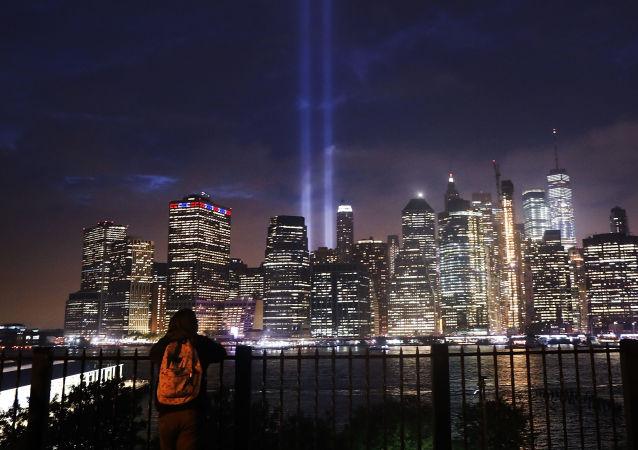 El espectáculo 'Tribute lights' de Manhattan