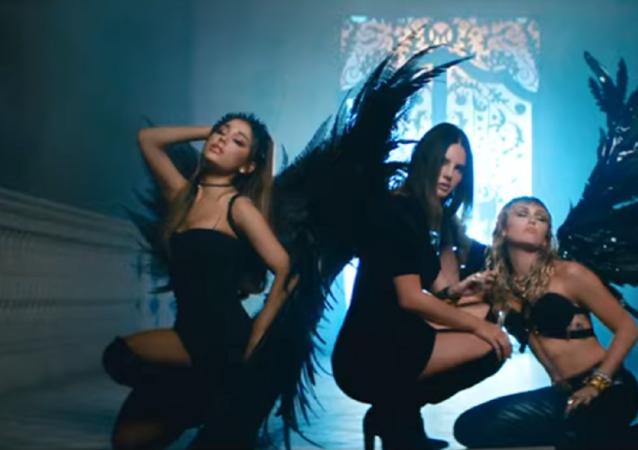 Ariana Grande, Lana del Rey y Miley Cyprus, cantantes estadounidenses