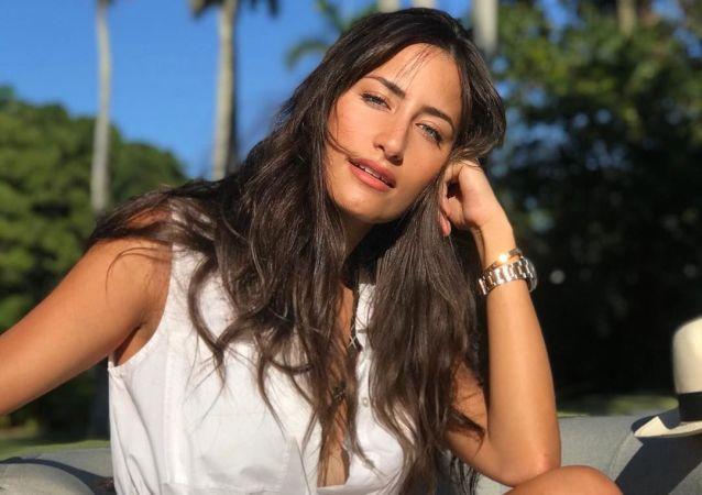 Rachel Valdés, modelo y artista cubana