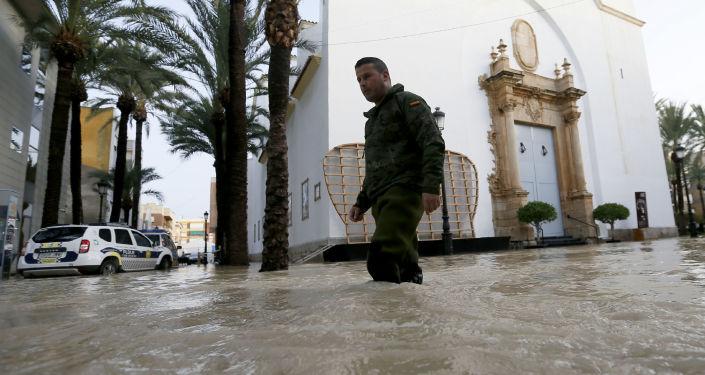 Inundaciones en España, la Comunidad Valenciana