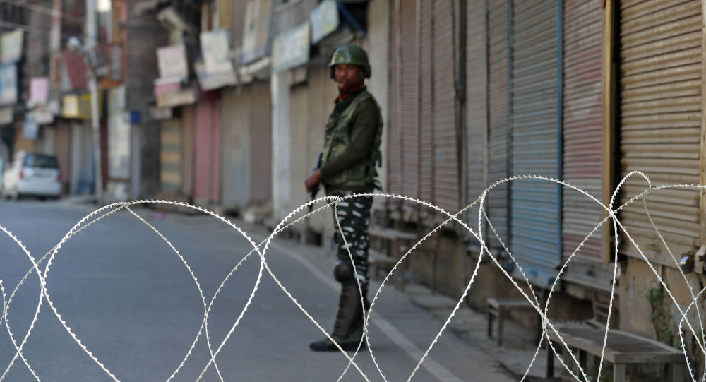 Fuerzas de seguridad de la India en Cachemira