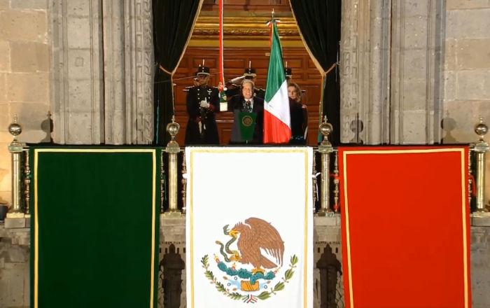 AMLO grita por la independencia de México