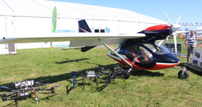 Avión a hidrógeno ruso de Npenergy