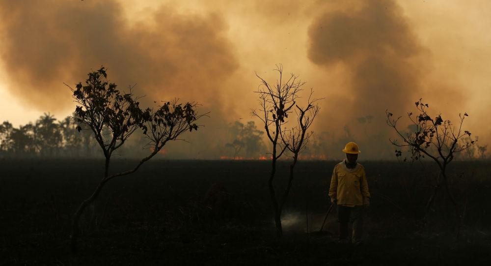 Los incendios en Amazonía