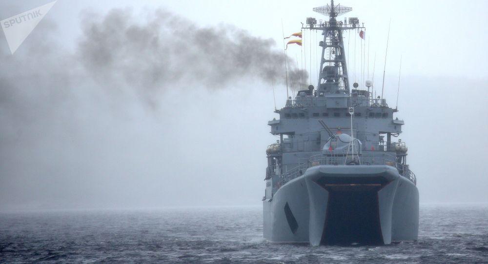 Gran buque de desembarco Kondopoga