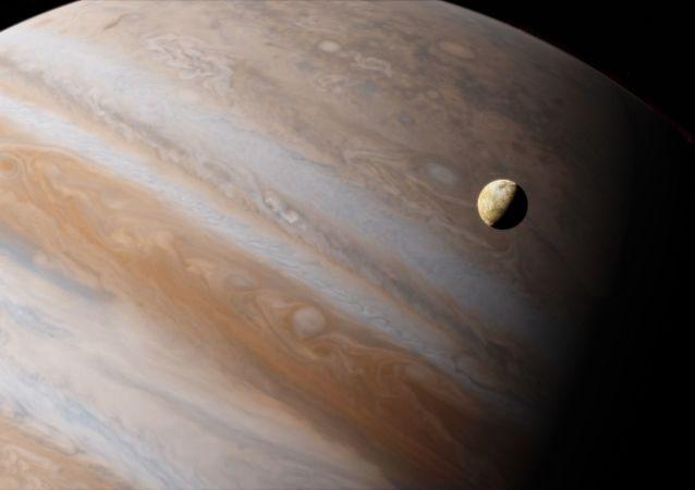 Ío, satélite de Júpiter