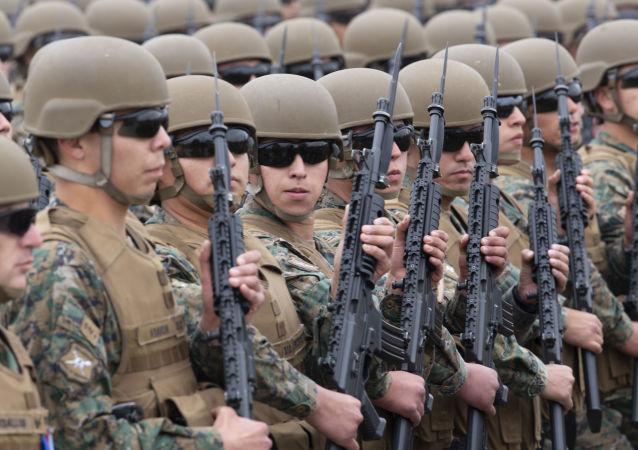 Los militares chilenos