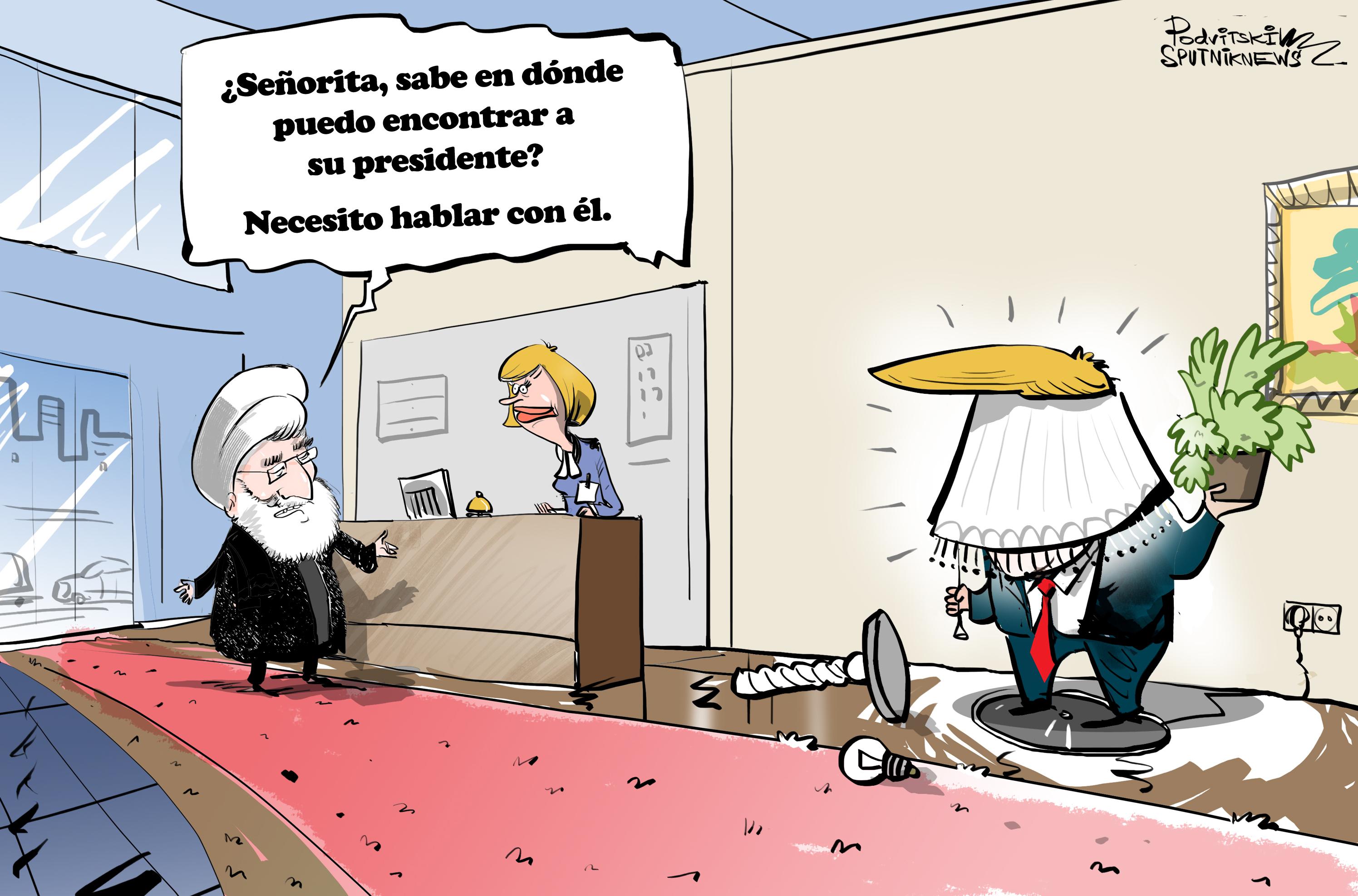 ¿Trump? ¿Qué Trump? Alguien no quiere reunirse con Irán