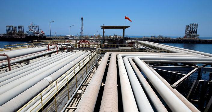 Una refinería de Saudi Aramcro (archivo)