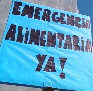 Los argentinos demandan la aprobación de la ley de emergencia alimentaria