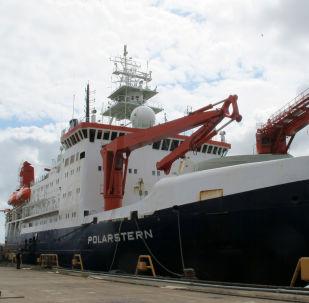 Rompehielos de investigación alemán RV Polarstern