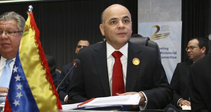 Manuel Quevedo, ministro de Petróleo de Venezuela (archivo)