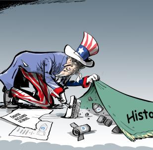 El 'Tío Sam' esconde bajo la alfombra las bombas de Israel
