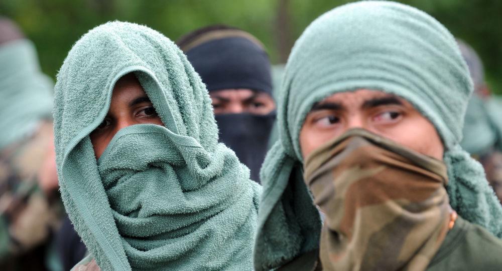 Miembros del grupo paramiltiar colombiano 'Los Rastrojos'