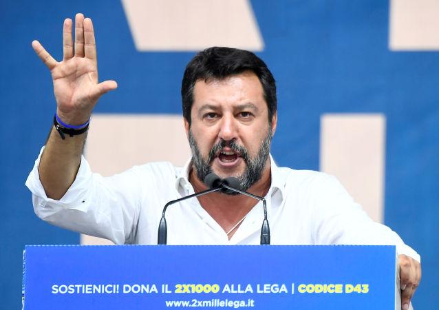 Matteo Salvini, el exvicepresidente del Gobierno italiano