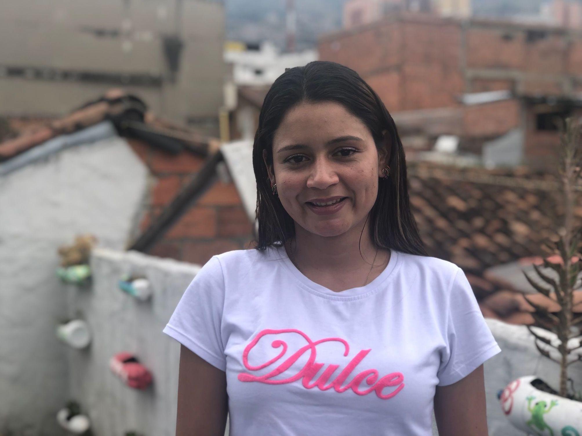 Sami, exguerillera de las FARC