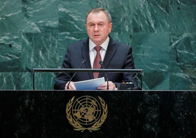 Vladímir Makei, canciller de Bielorrusia