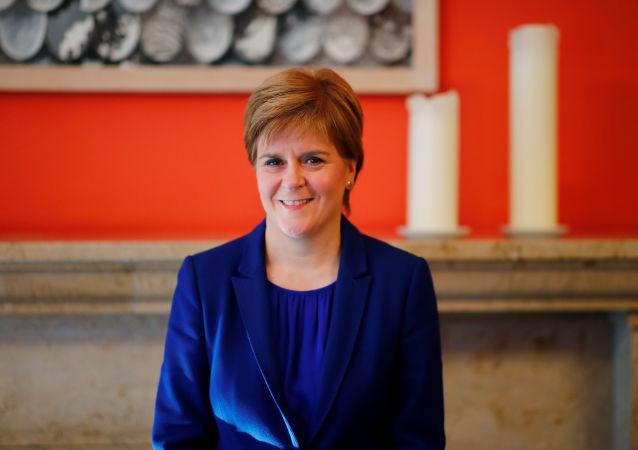 Nicola Sturgeon, la jefa del Gobierno escocés