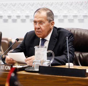 Serguéi Lavrov, el canciller ruso