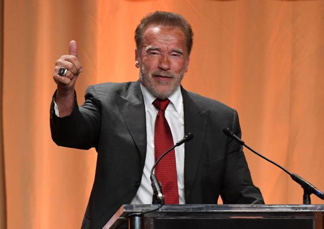 Arnold Schwarzenegger, actor austríaco nacionalizado estadounidense