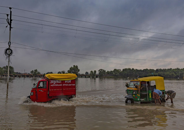 Inundación en la India