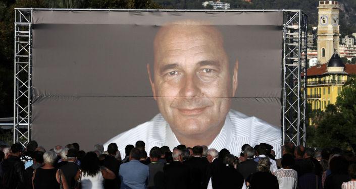 La gente se reúne en Niza para rendir homenaje al difunto expresidente francés Jacques Chirac