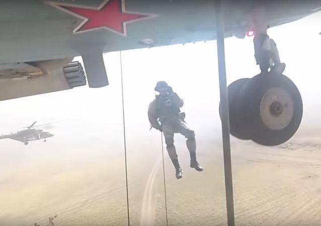 Un combate visto con los ojos de un soldado