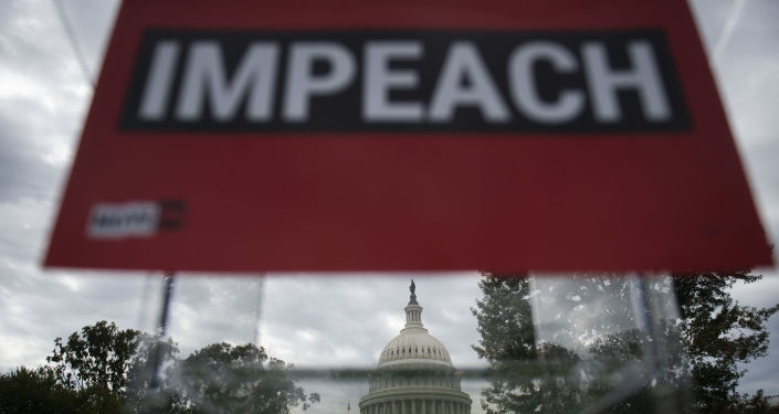 La campaña a favor del impeachment de Donald Trump en Washington, EEUU