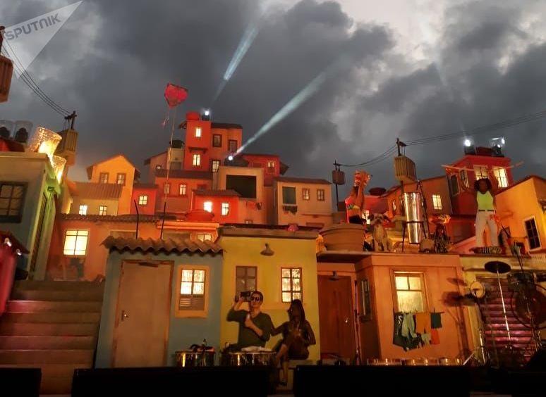 Espacio Favela, uno de los nuevos escenarios de esta edicion del festival Rock in Río