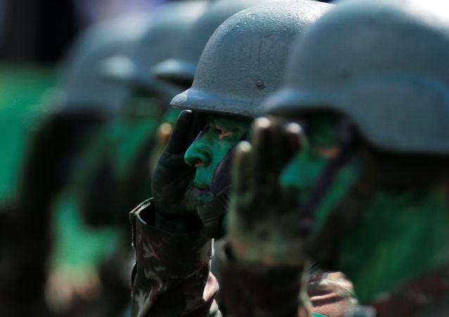 Los soldados de Brasil