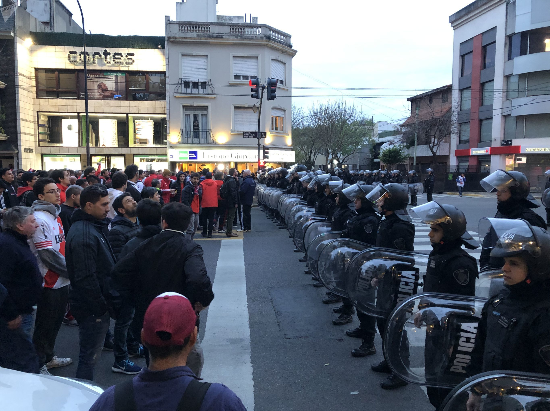 El barrio de Núñez en Buenos Aires