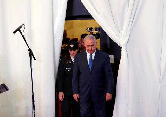 Benjamín Netanyahu, primer ministro israelí en funciones (archivo)