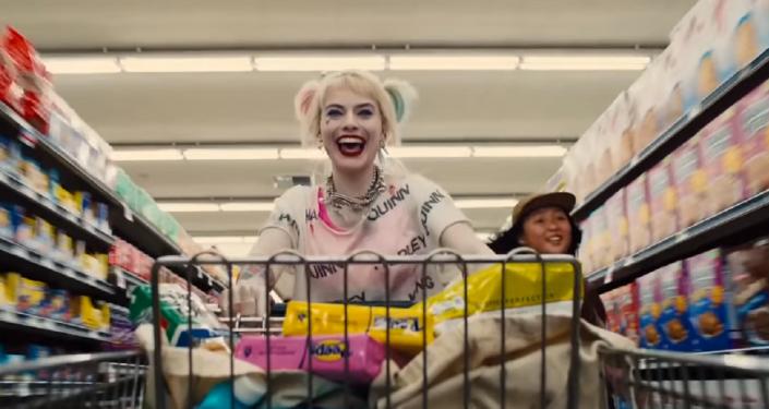 Harley Quinn, captura de pantalla