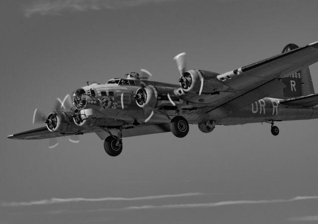 Un Boeing B-17 (imagen referencial)